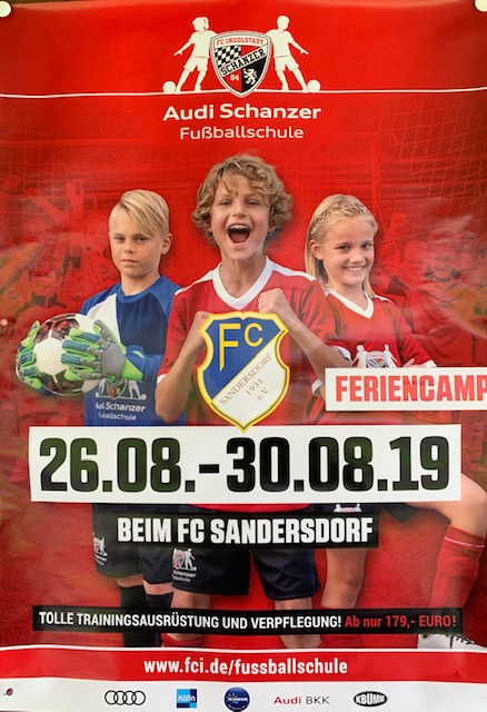 Schanzer Fussballschule @ FC Sandersdorf