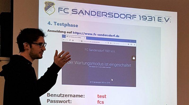 Tobias Neumayer - Neue Homepage FCS