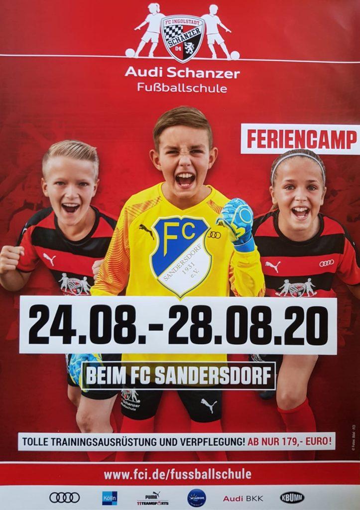 Audi Schanzer Fußballschule @ FC Sandersdorf